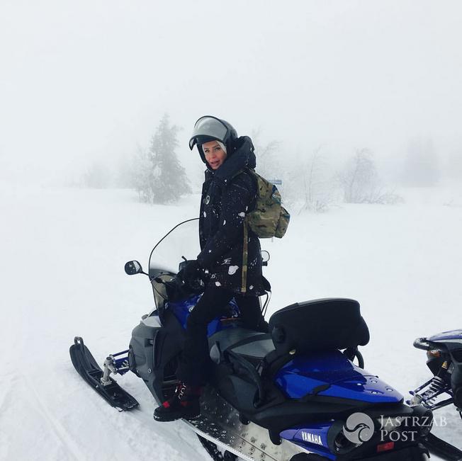 Agnieszka Woźniak-Starak odpoczywa w szwedzkich górach - Instagram