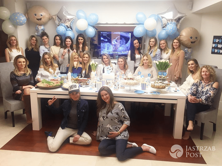 Baby shower Natalii Jakuły - Instagram