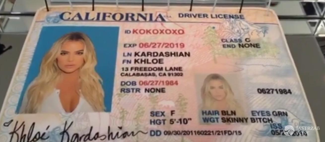 Khloe Kardashian zmieniła nazwisko