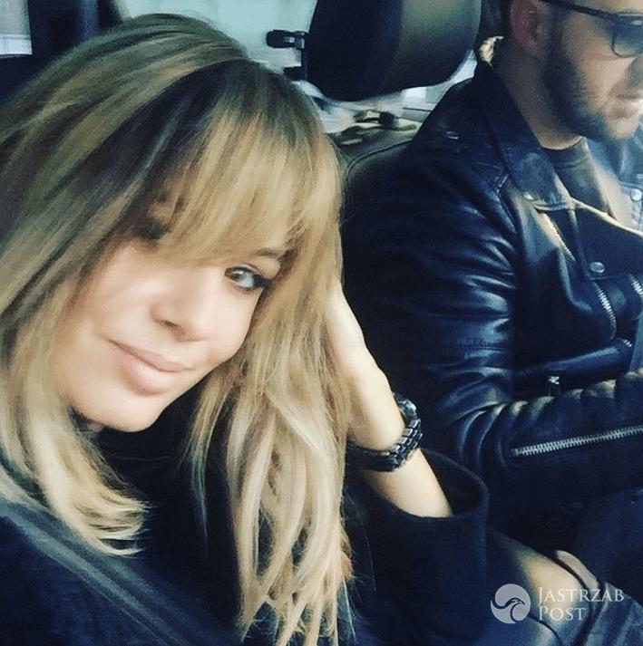 Agnieszka Hyży z mężem - Instagram
