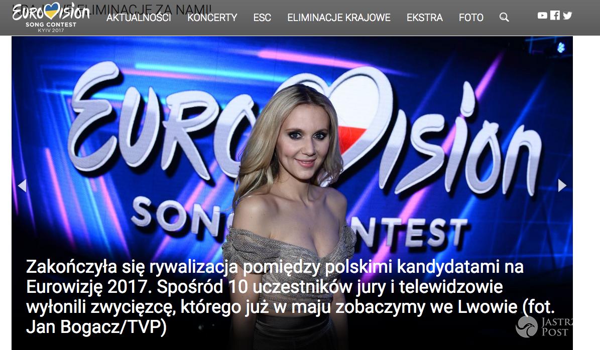 Wpadka TVP z Eurowizją 2017 we Lwowie