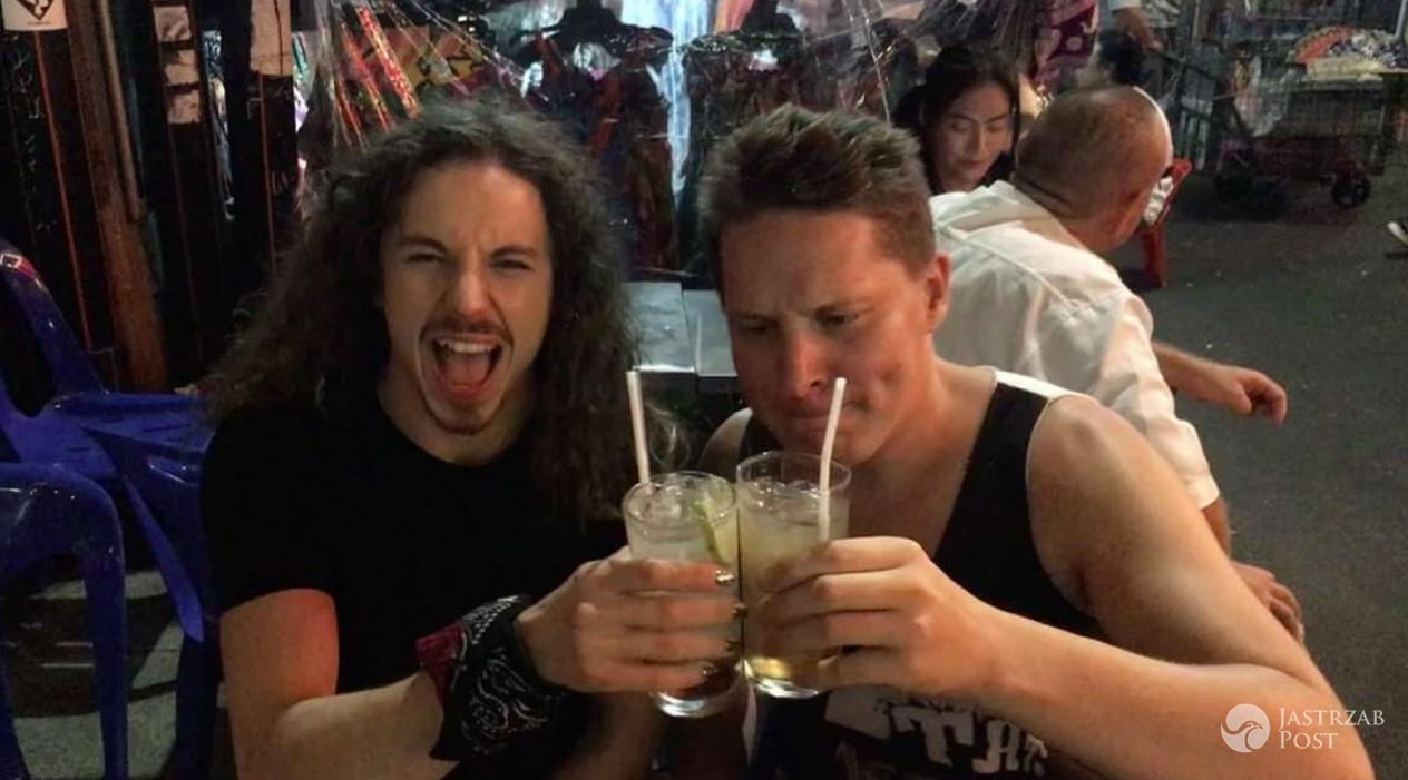 Antek Smykiewicz i Michał Szpak razem na wakacjach w Bangkoku