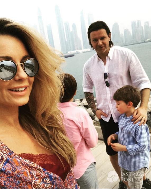 Małgorzata Rozenek z rodziną w Dubaju - Instagram