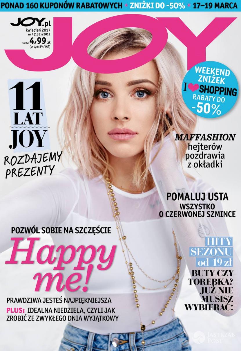 Maffashion na okładce magazynu Joy