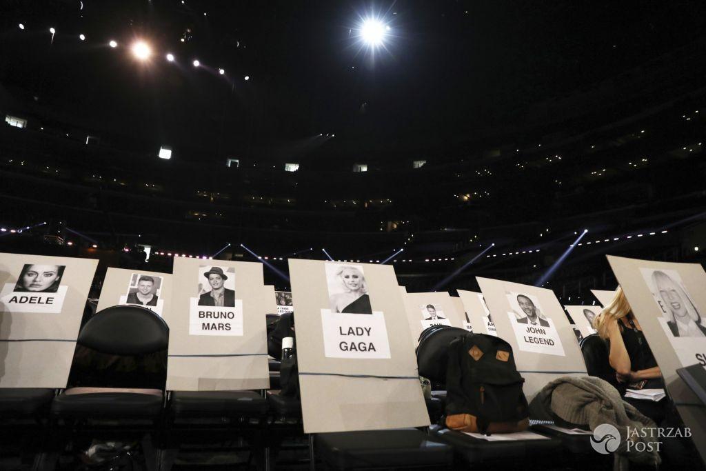 Przydział miejsc podczas imprezy Grammy Awards