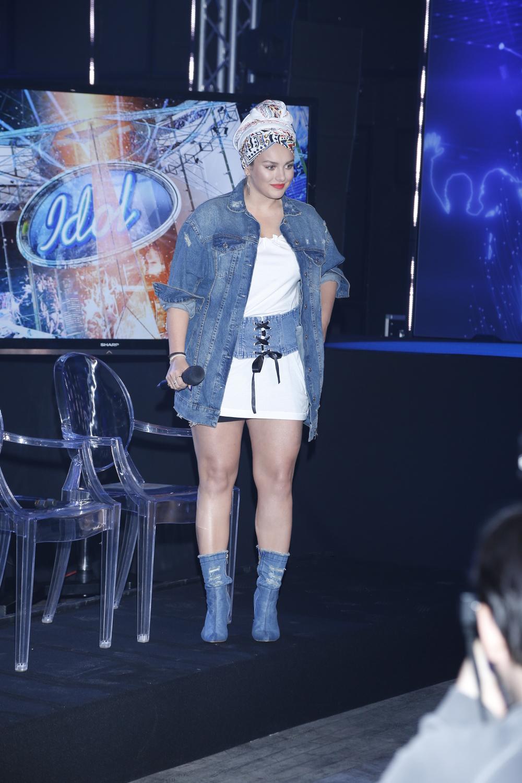 Ewa Farna na konferencji programu Idol. Zdjęcia