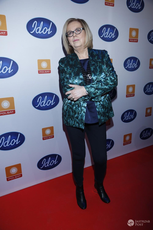 Elżbieta Zapendowska - Idol 2017 konferencja