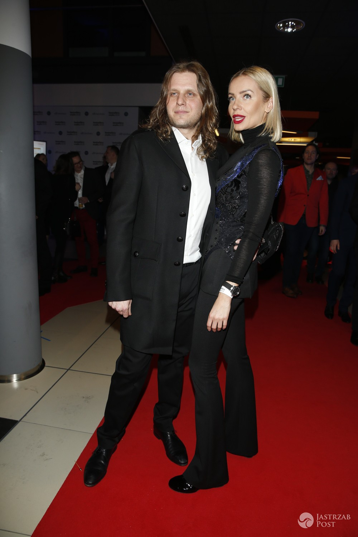 Agnieszka Szulim i Piotr Woźniak-Starak na gali Bestsellery Empiku 2016