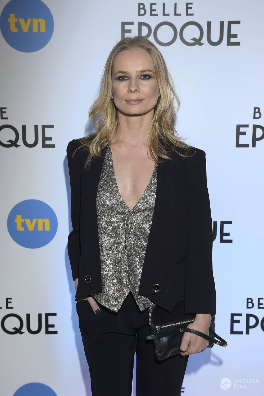 Magdalena Cielecka - premiera serialu Belle Epoque