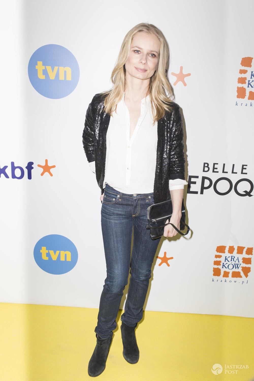 Magdalena Cielecka - premiera serialu Belle epoque w Krakowie