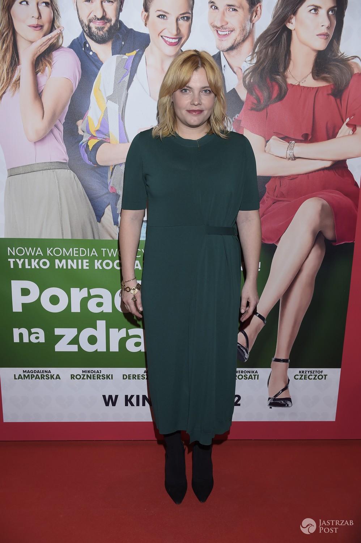 Ania Dąbrowska - premiera filmu 'Porady na zdrady