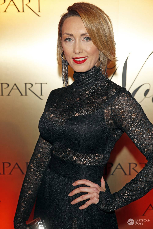 Anna Kalczyńska na balu z okazji 40 lecia marki Apart. Zdjęcia