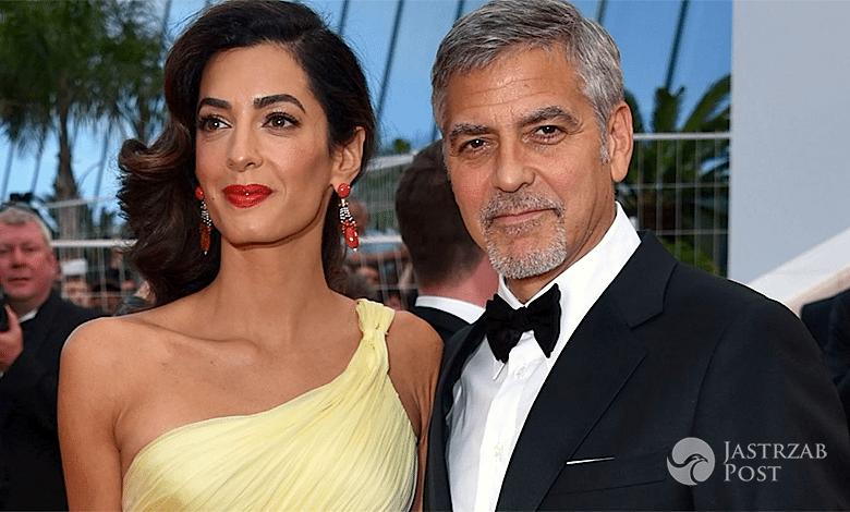 George Clooney o ciąży Amal
