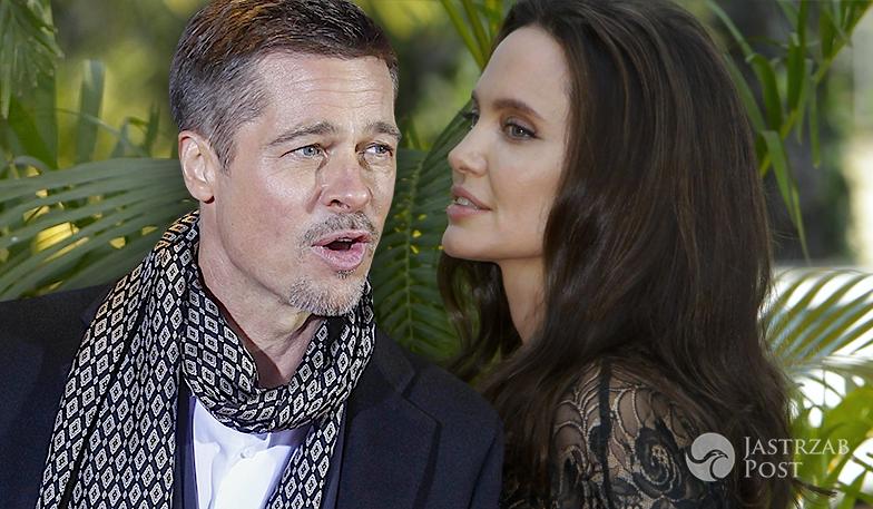 Angelina Jolie o rozwodzie z Bradem Pittem