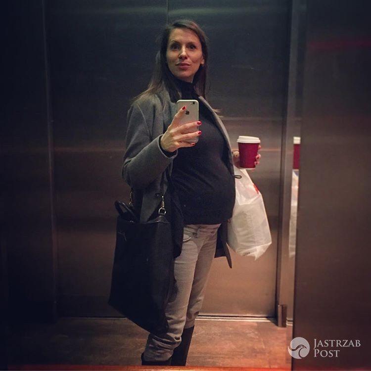 Anna Kerth pokazała zdjęcie ciążowego brzuszka