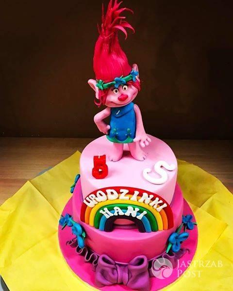Barbara Kurdej-Szatan pokazała tort dla córki