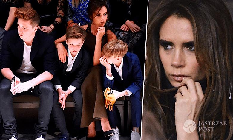 Victoria David Beckham dzieci wypadek