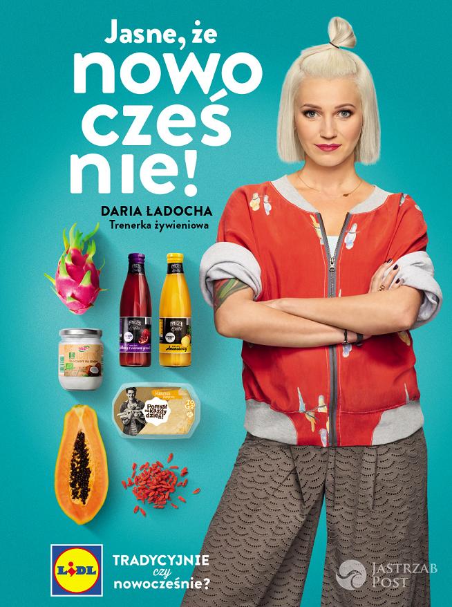 Daria Ładocha w reklamie Lidla