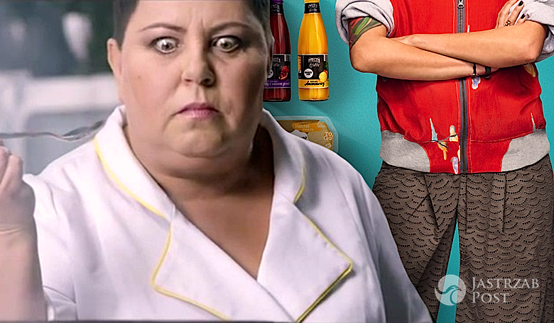Daria Ładocha w reklamach Lidla za Dorotę Wellman
