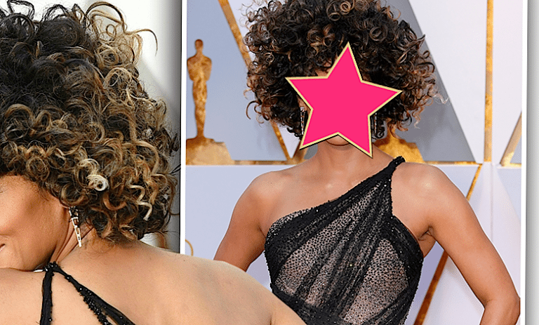 Halle Berry w afro Oscary 2017
