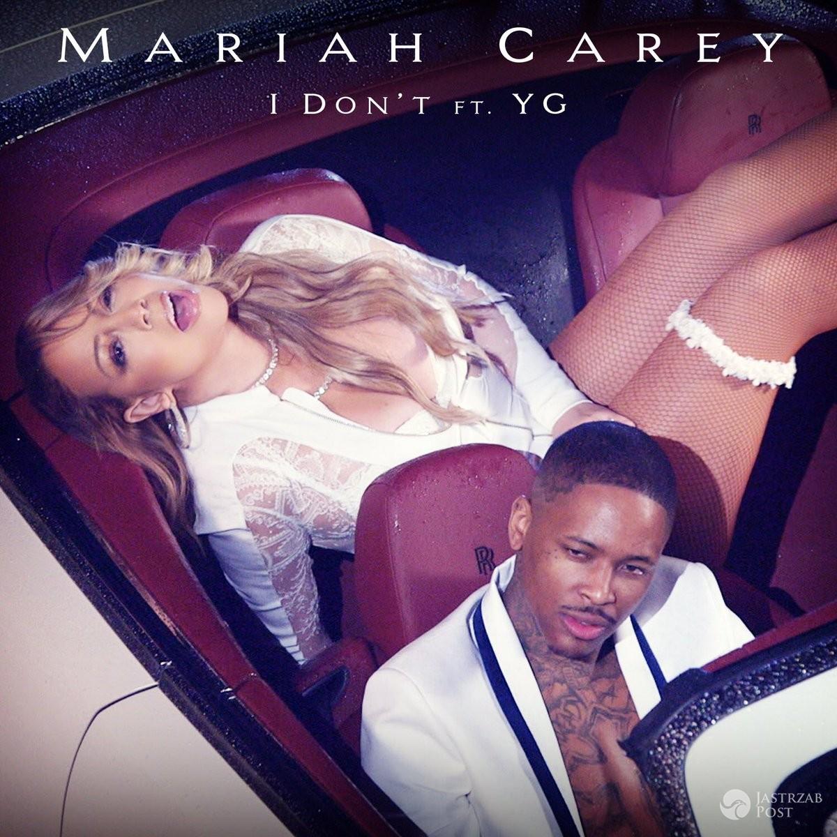 "Okładka nowego singla Mariah Carey ""I Don't"""