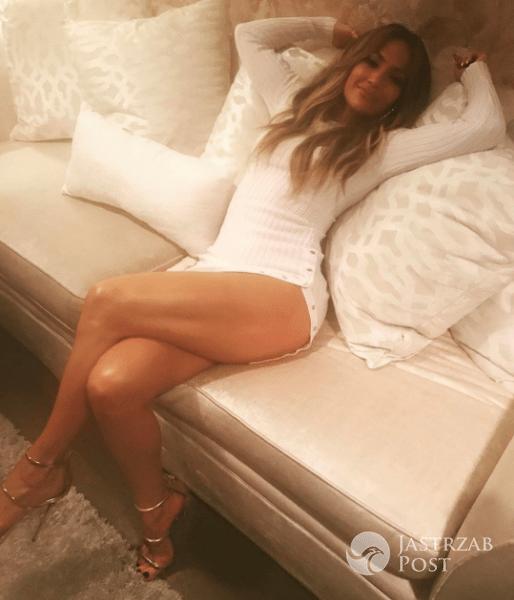 Jennifer Lopez pokazała długie nogi na Instagramie