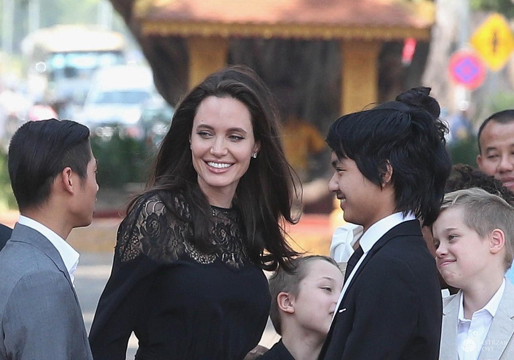 Co Angelina Jolie robiła w Kambodży?