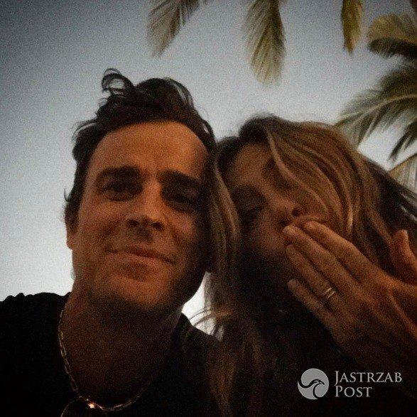 Justin Theroux pochwalił się zdjęciem z Jennifer Aniston