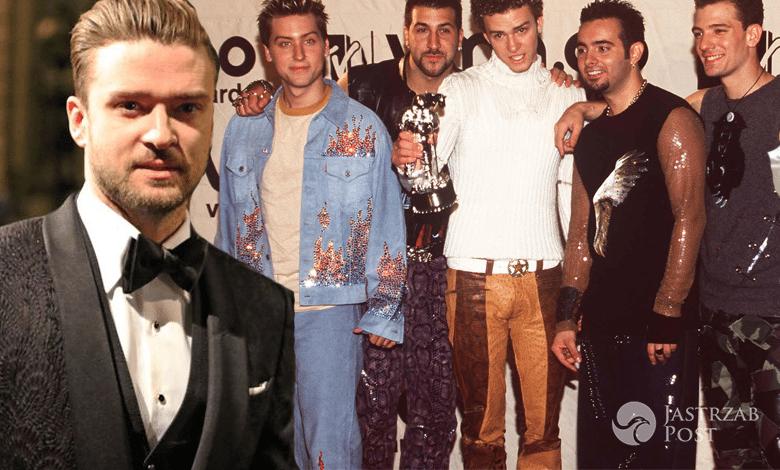 Justin Timberlake i *NSYNC