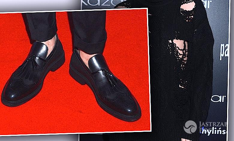 Kajetan Góra w butach Vivienne Westwood