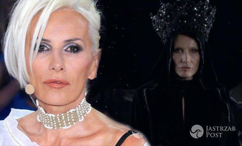 """Kora Jackowska w teledysku Organka """"Czarna Madonna"""""""