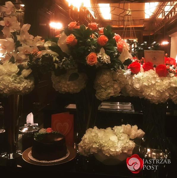 Walentynkowe kwiaty Jennifer Lopez (fot. Instagram)