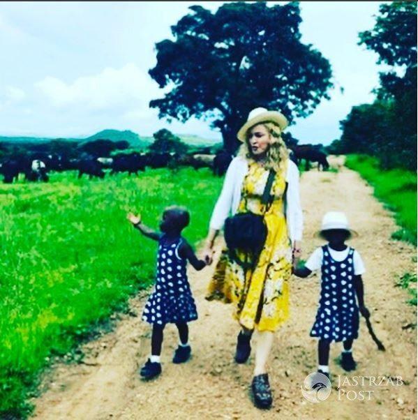 Madonna adoptowała siostry bliźniaczki z Malawi