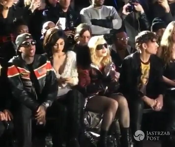 Madonna wycięła ze zdjęcia Kylie Jenner