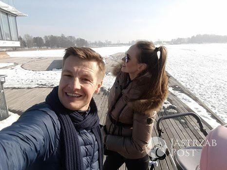 Rafał Mroczek pochwalił się zdjęciem z partnerką