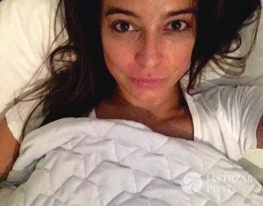 Anna Mucha pokazała zdjęcie z łóżka