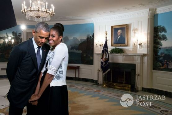 Michelle i Barack Obama - Walentynki 2017