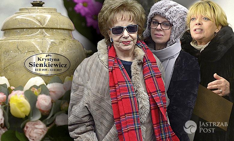Pogrzeb Krystyny Sienkiewicz