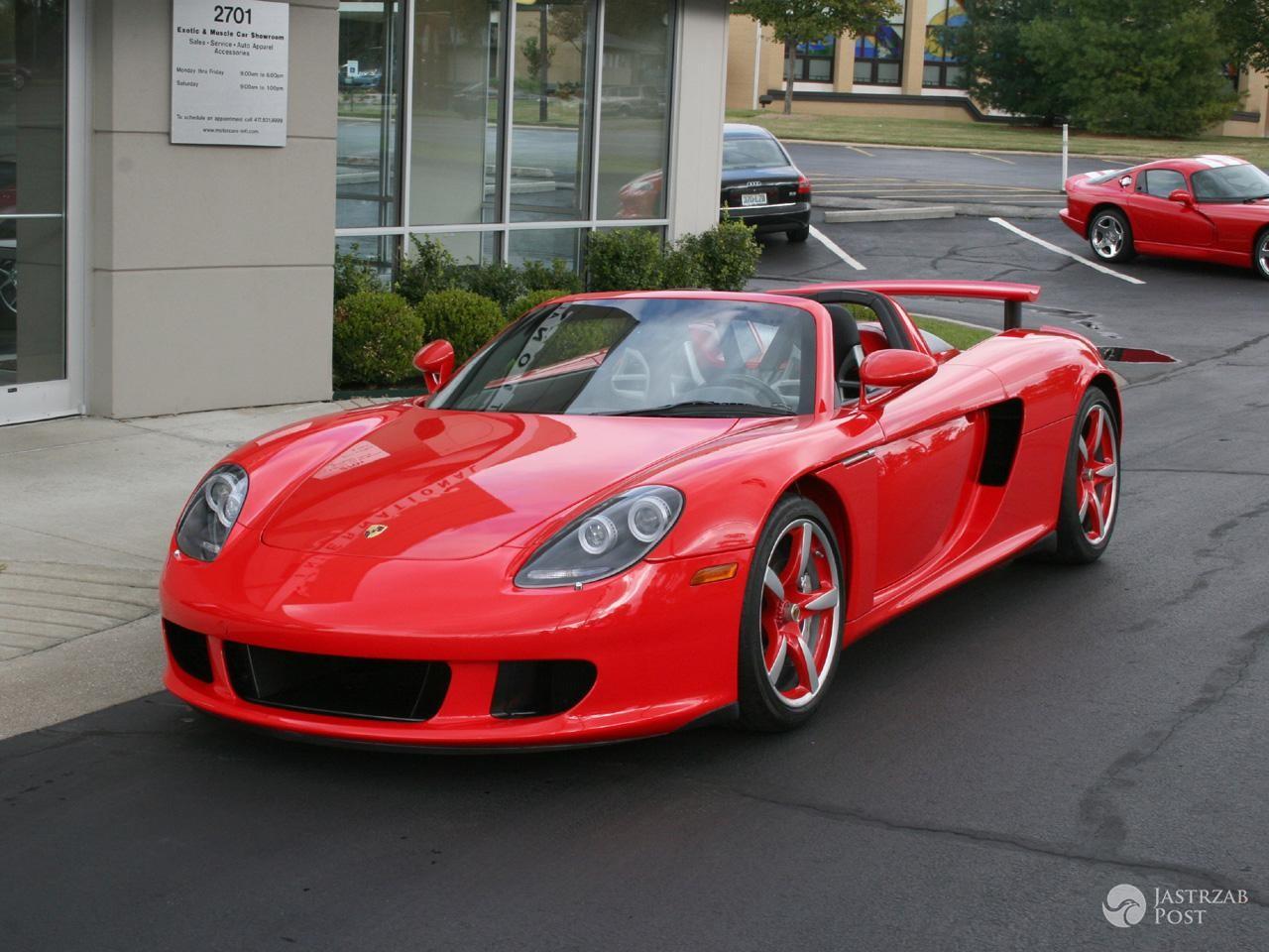 Porsche Carrera GT - samochód, którym jechał Paul Walker