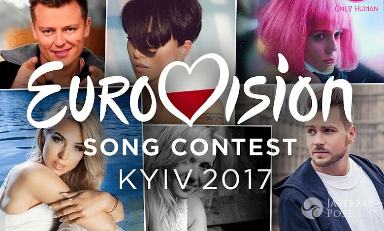 Preselekcje Eurowizja 2017 kandydaci piosenki uczestnicy