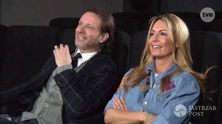 Małgorzata Rozenek i Radosław Majdan w kinie