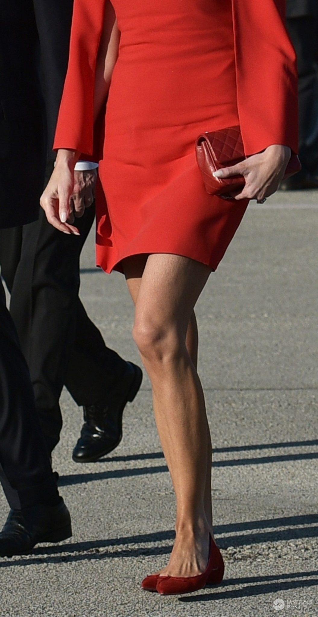 Nogi Melanii Trump