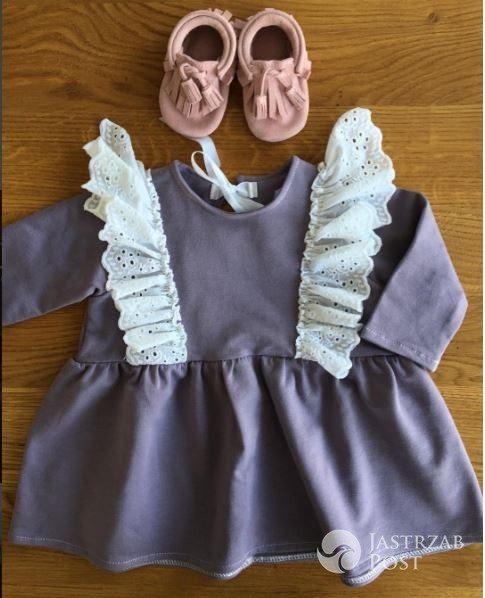 Ubranka córki Pauliny Sykut