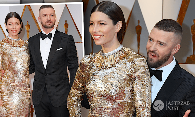 Justin Timberlake i Jessica Biel Oscary 2017