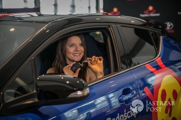 Nowy samochód Joanny Jabłczyńskiej
