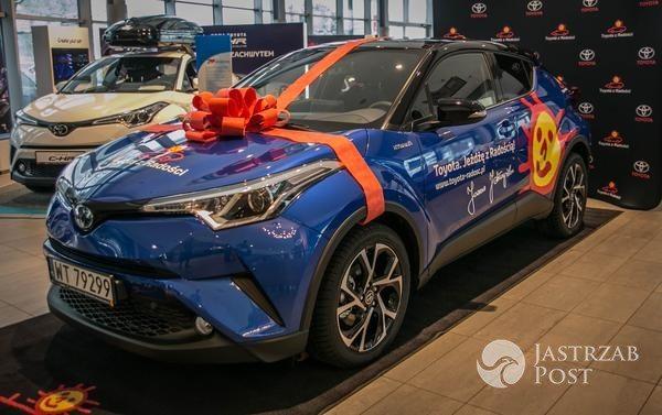 Nowa Toyota Joanny Jabłczyńskiej