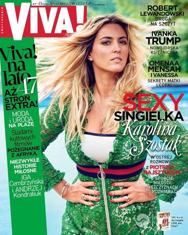 Karolina Szostak na okładce Vivy 2016