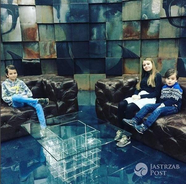 Dzieci Anny Przybylskiej i Jarosława Bieniuka u Kuby Wojewódzkiego