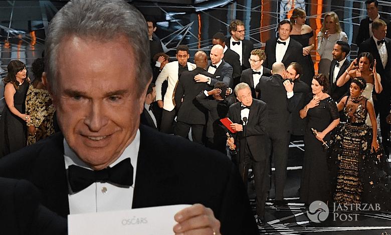 Wpadka Oscary 2017 pomyłka La La Land Moonlight