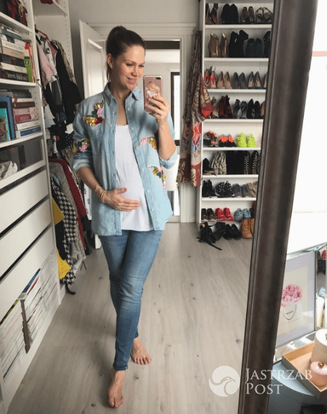 Zosia Ślotała w szóstym miesiącu ciąży